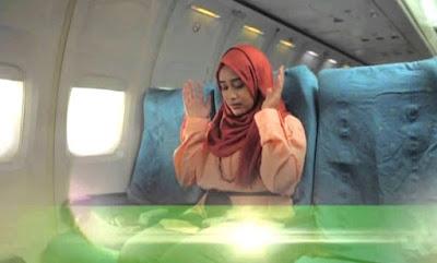 Tata Cara Gerakan Shalat dalam Kendaraan Pesawat Terbang Kereta Bus