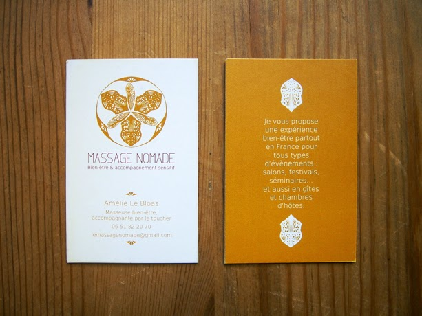 Carte De Visite Massage