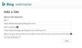 Submit Your Sitemap To Yahoo Bing And Get More Views On Your Website