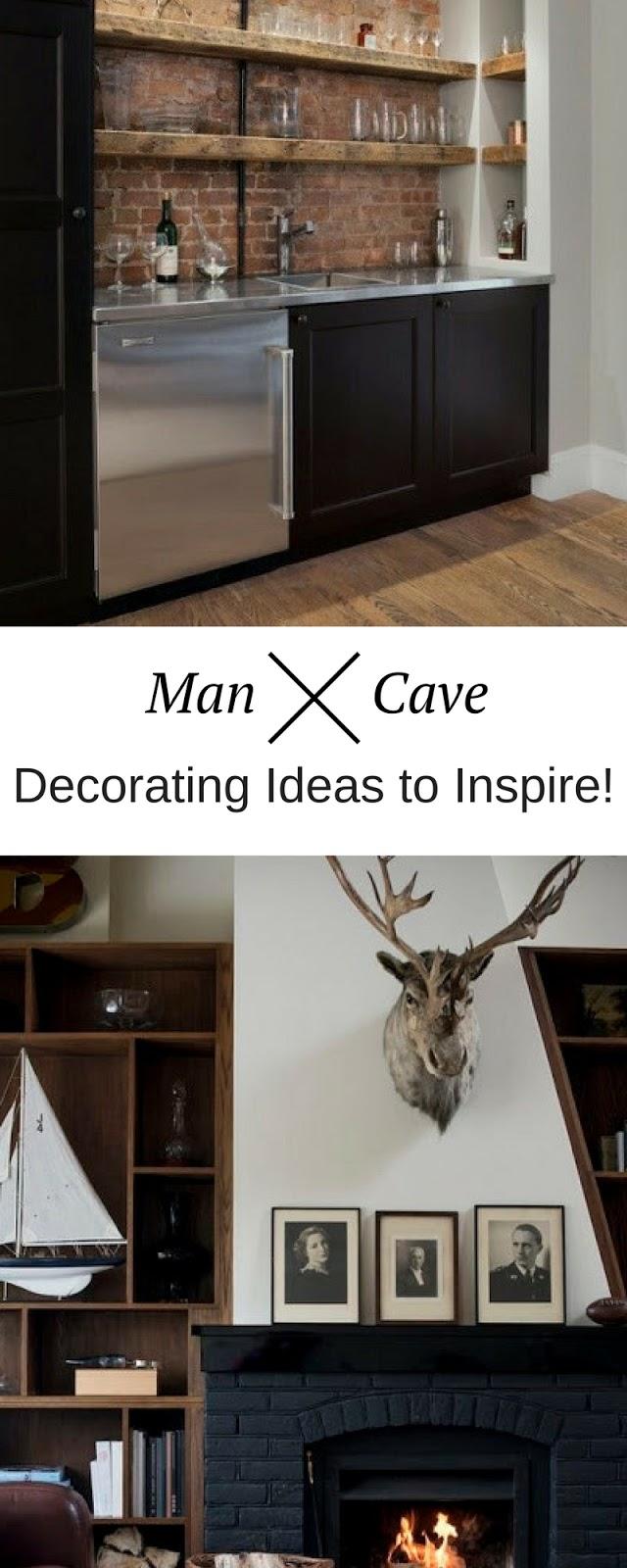 Man Cave Ideas Work : Masculine man cave decorating ideas home decor