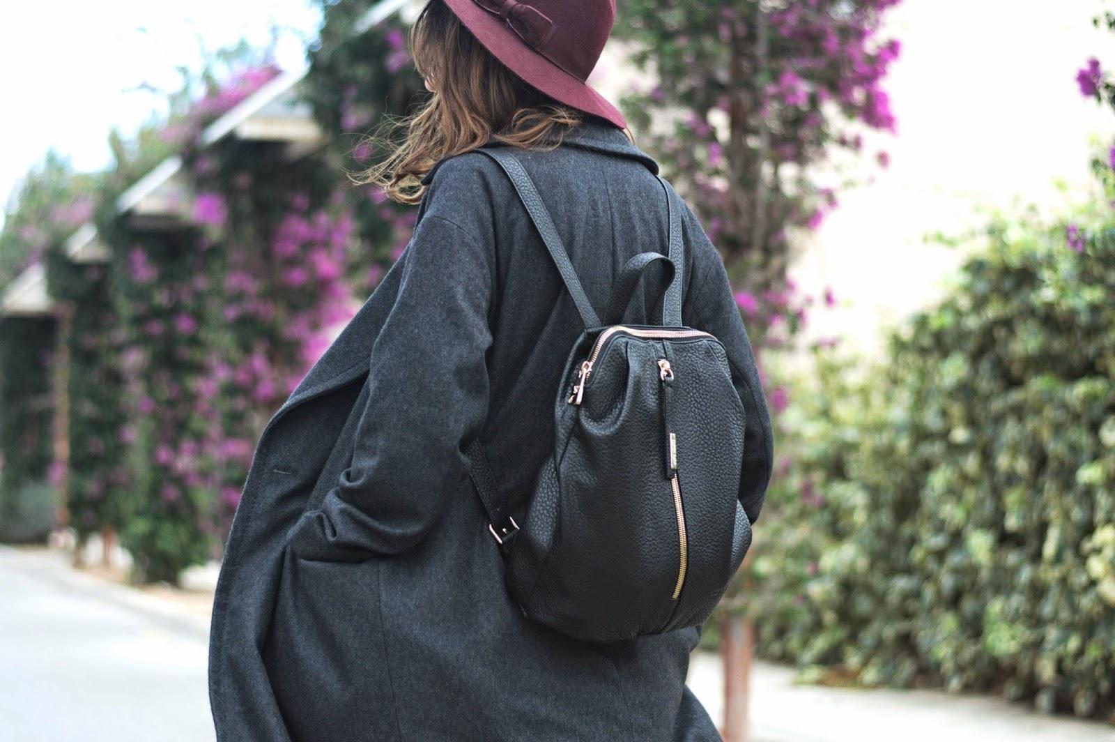 bolso Pepe Moll, abrigo H&M, falda vintage, blusa vintage, botines Zara