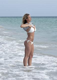 Gemma Atkinson, Bikini Candids, Gemma Atkinson Bikini