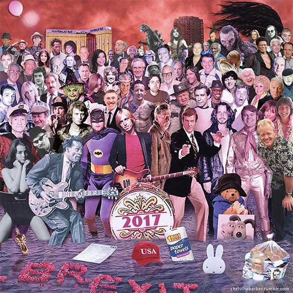 Pochette «Sgt. Pepper» : hommage aux personnalités disparues en 2017