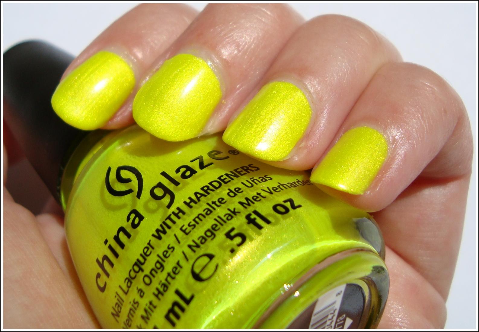 Summer Neons de China Glaze {en 2012, neón hasta en las uñas ...