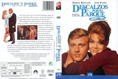 Cover, dvd, caratula: Descalzos por el parque | 1967 | Barefoot in the Park