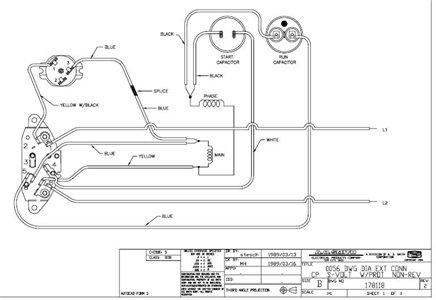 Century Ac Motor Wiring, Gould Century Electric Motor Wiring Diagram