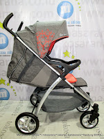 CocoLatte CL905 Spin LightWeight Baby Stroller