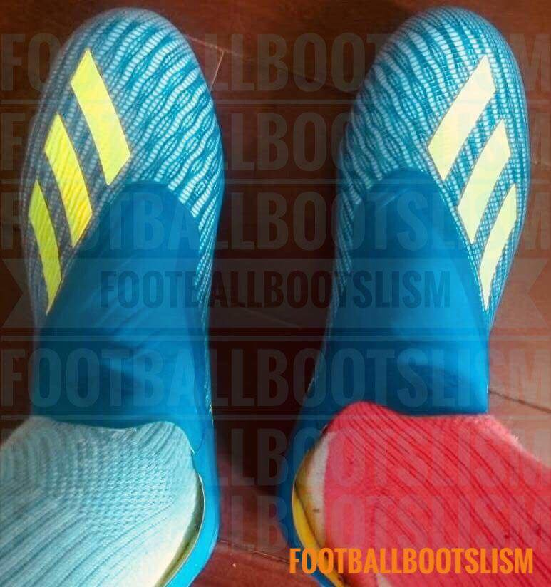 f1e4418a9b8c All-New Laceless Next-Gen Adidas X 18+ 2018 World Cup Launch Boots ...