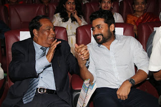 Surya at MGR Book Launch Images