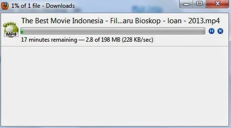 kecepatan download di MOR store pamulang