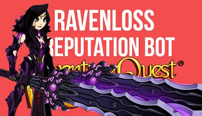 Fastest Ravenloss Rep Bot AQW