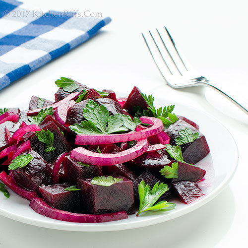Beet and Red Onion Salad