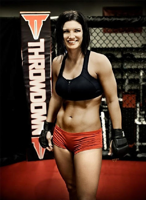 Carano MMA Return Gata   Gina Carano lutadora de MMA