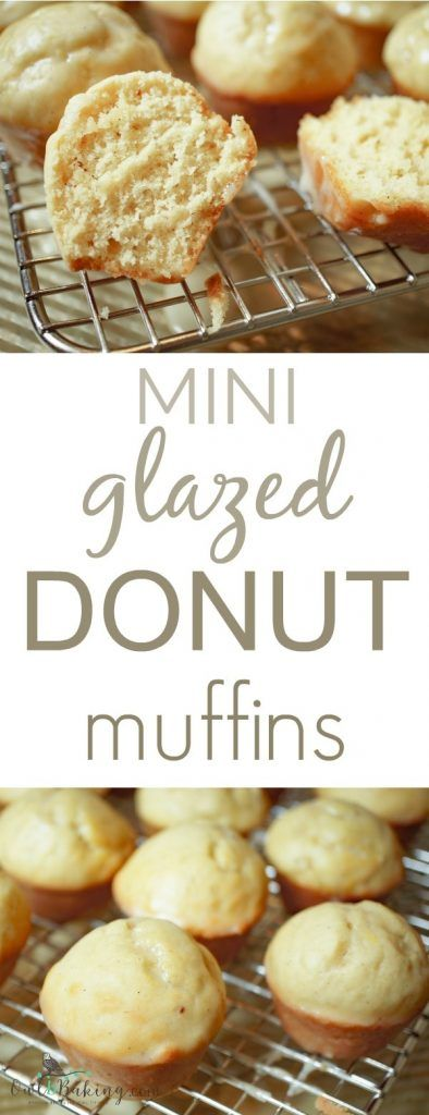 MINI GLAZED DONUT MUFFINS RECIPES