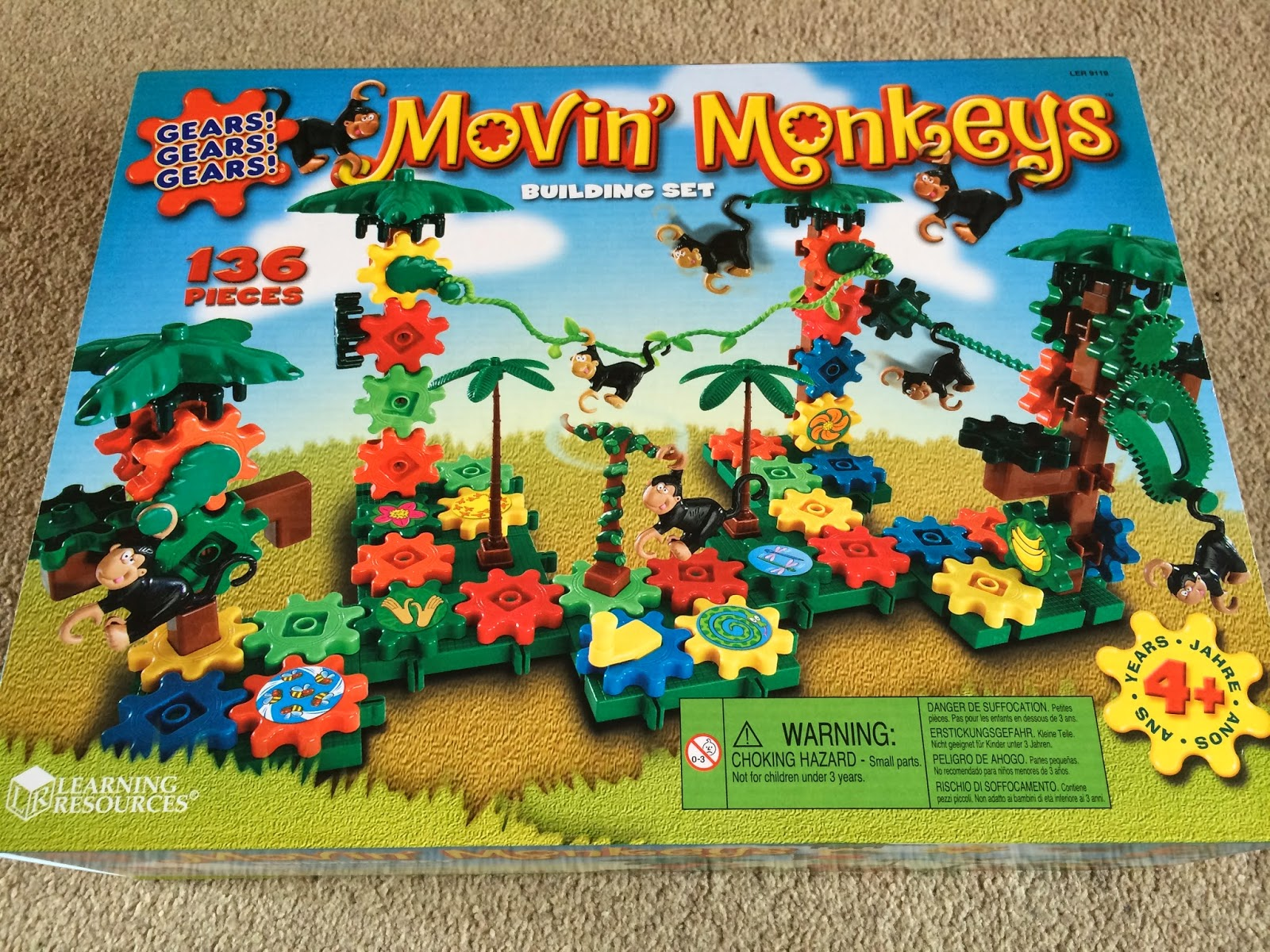 Gears! Gears! Gears! Movin' Monkeys™