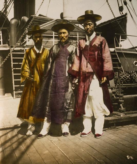 Những người đàn ông Hàn Quốc 1895.