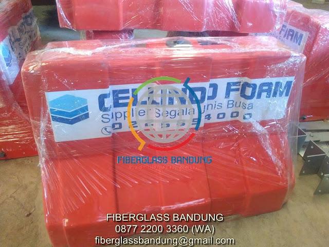separator jalan fiber