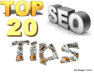 Top 20 SEO Tips