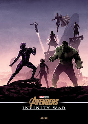 Odeon Cinemas Exclusive Avengers: Infinity War Movie Posters by Matt Ferguson x Marvel