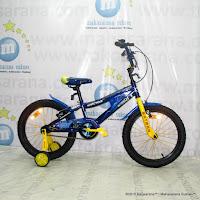 Sepeda Anak Wimcycle Batman BMX 18 Inci