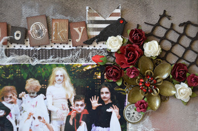 halloween scrapbooking layouts