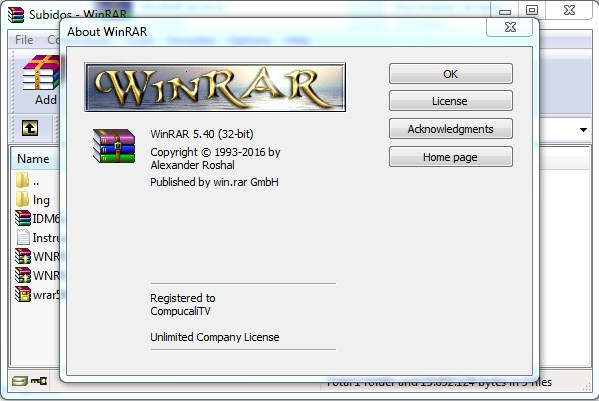 Winrar 5.4 Full Final Español