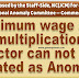 Minimum wage and multiplication factor can not be treated as Anomaly – DoPT