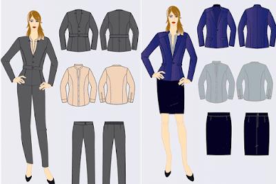 ilustrasi desain baju menarik dengan aplikasi android