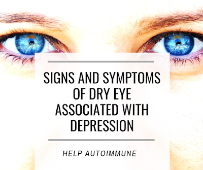 Ocular Signs and Symptoms of Dry Eye Associated With Depression