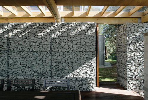 Retaining Wall Design: Gabion Walls Used For Structural