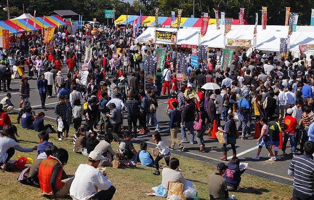 Tottori Burger Festa, Houki Town, Daisen, Tottori Pref.