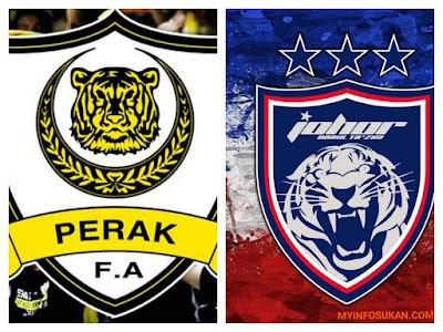 Live Streaming Perak vs JDT FC Separuh Akhir Piala Malaysia 15 Oktober 2017