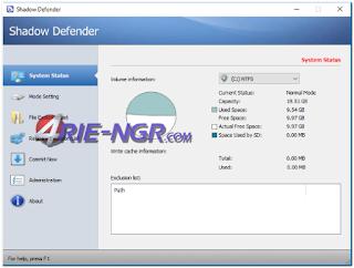 Shadow Defender 1.4.0.653 Final Terbaru