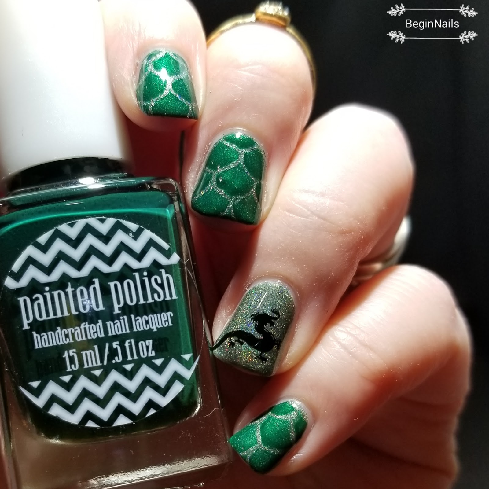 Let\'s Begin Nails: Digit-al Dozen: The Mythical Dragon