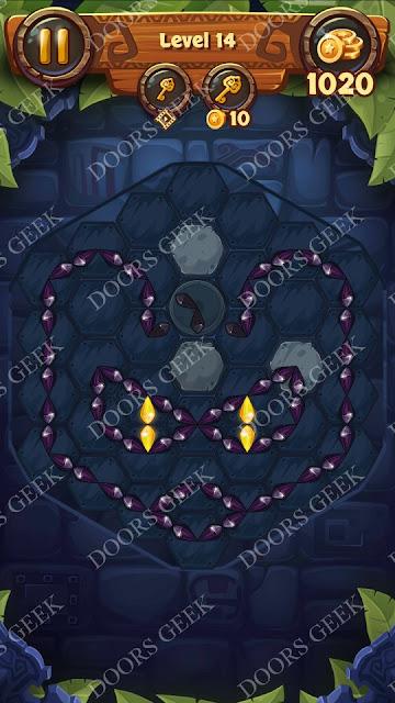 Gems & Magic [Aquamarine] Level 14 Solution, Walkthrough, Cheats