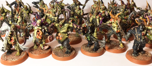What's On Your Table: Nurgle