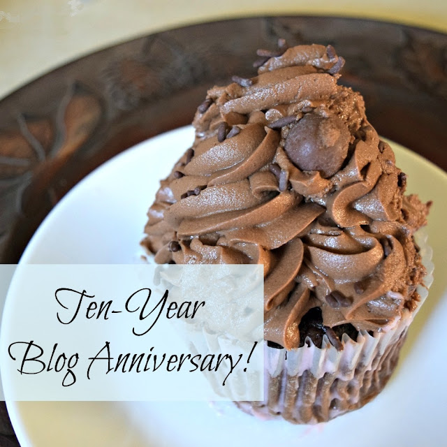 Oak Hill Homestead's 10 year blog anniversary