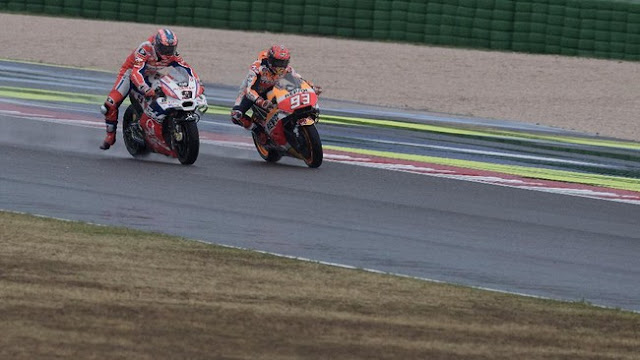 Petrucci: Marquez Mestinya Dapat Penalti di MotoGP Italia