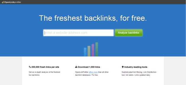 Sitio oficial de OpenLinkProfiler