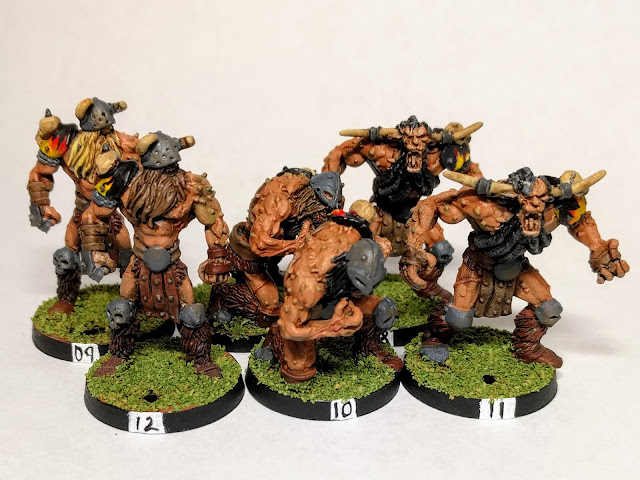 6 Chaos marauder linemen