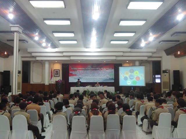 Kemah Kebangsaan 4 Pilar Jawa Timur