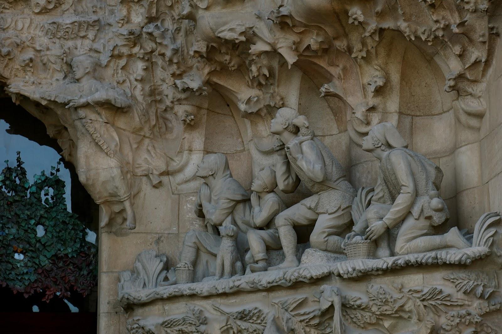 サグラダ・ファミリア (Sagrada Familia) 「羊飼いの礼拝(L'adoració dels pastors)