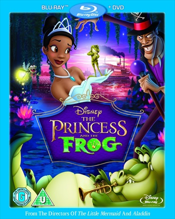 Download The Princess and the Frog 2009 Dual Audio 720p BluRay 800mb