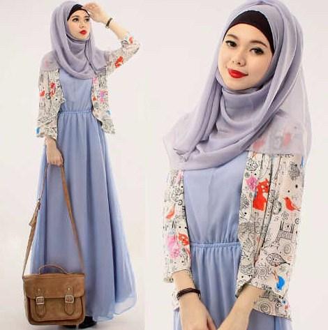 40 Contoh Baju Muslim Remaja Putri Terbaru 2018 Modern Trendy
