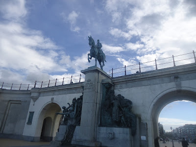 Ostend Leopold II statue