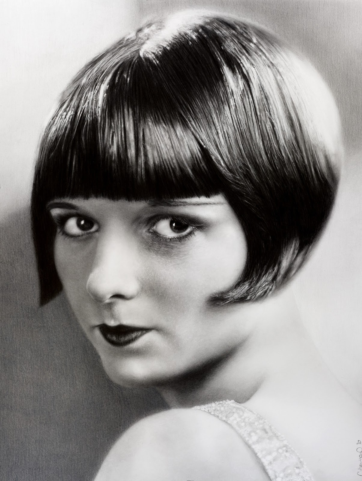 The Beauty of the 1920s Louise Brooks. 1205 x 1600.Hairstyles 2013 Lulu