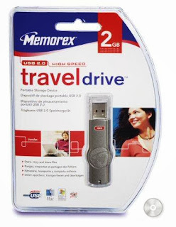 How to put a password for Memorex usb Travel Drive