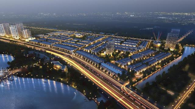 Phối cảnh dự án Lakeside Palace Đà Nẵng