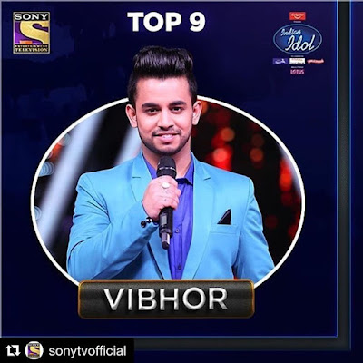 Vibhor in Indian Idol