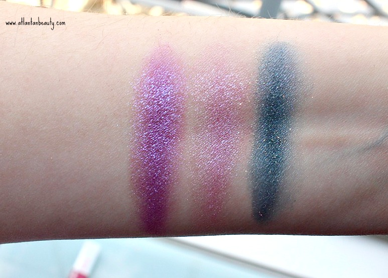 Wet n Wild Loose Pigment Swatches